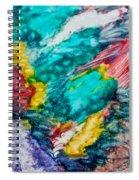 Blue Rush Spiral Notebook