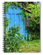 Blue Shed II Spiral Notebook