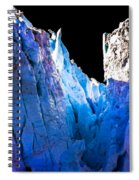 Blue Shivers Spiral Notebook