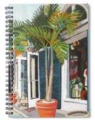 Blue Shutters Spiral Notebook