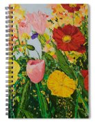 Blue Skies And Sunshine Spiral Notebook
