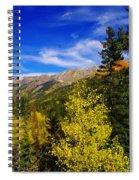 Blue Skies In Colorado Spiral Notebook