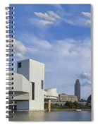 Blue Skies Over Cleveland Spiral Notebook