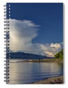 Blue Skies Spiral Notebook
