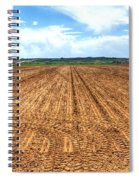 Blue Sky And Field 14567 Spiral Notebook