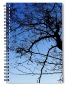 Blue Sky Spiral Notebook