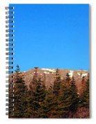 Blue Sky - Cliff - Trees Spiral Notebook