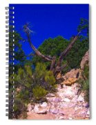Blue Sky Over The Canyon Spiral Notebook