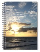 Blue Sky Sunrise Spiral Notebook