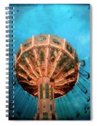 Blue Sky Swings Spiral Notebook