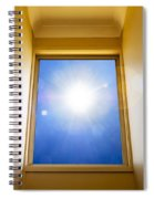Blue Sky Window Spiral Notebook