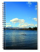 Beautiful English View Spiral Notebook