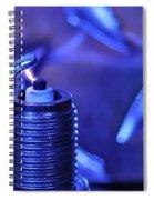 Blue Spark Spiral Notebook