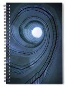 Blue Spiral Staircaise Spiral Notebook