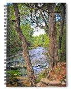 Blue Spring Branch 2 Spiral Notebook