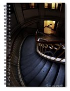 Blue Stairs Spiral Notebook