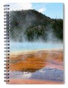 Blue Steam Spiral Notebook