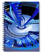 Blue Steel Spiral Notebook