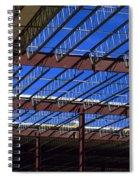 Blue Steel Spiral Notebook