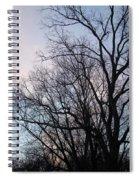 Blue Sunset Spiral Notebook