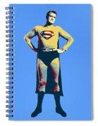 Blue Superman Spiral Notebook