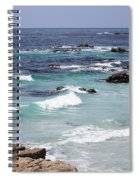 Blue Surf Spiral Notebook