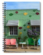 Blue Swallow Motel In Tucumcari In New Mexico Spiral Notebook