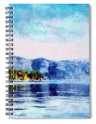 Blue Tahoe Spiral Notebook
