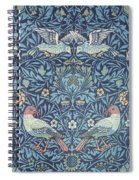 Blue Tapestry Spiral Notebook