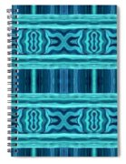 Blue Teal Dreams Spiral Notebook