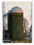 Blue Tear Farm Spiral Notebook
