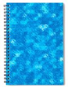 Blue Tiles Spiral Notebook