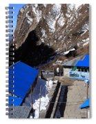 Blue Tin Roof Spiral Notebook