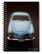 Blue Toy Car Spiral Notebook