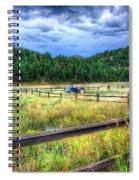 Blue Tractor Deckers Colorado Spiral Notebook