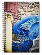 Blue Tractor Spiral Notebook