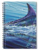 Blue Tranquility Off0051 Spiral Notebook