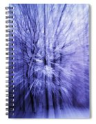 Blue Trees Spiral Notebook