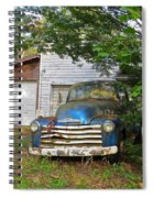 Blue Truck  Spiral Notebook