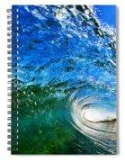 Blue Tube Spiral Notebook
