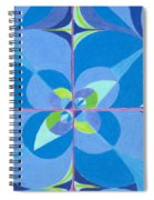 Blue Unity Spiral Notebook