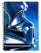 Blue Vader Spiral Notebook
