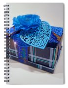 Blue Valentine Spiral Notebook