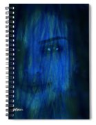 Blue Veil Spiral Notebook
