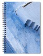 Blue Wall 03 Spiral Notebook