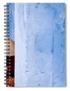 Blue Wall Hawker 01 Spiral Notebook