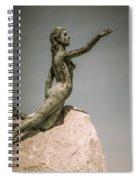 Blue Water Maiden Spiral Notebook