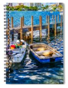 Blue Waters Spiral Notebook