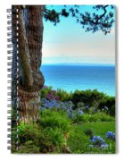 Blue Waters In Palos Verdes California Spiral Notebook
