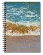 Blue Wave Spiral Notebook